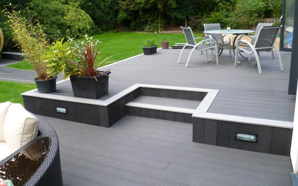 Home ls composite decking company for Garden decking quotes uk